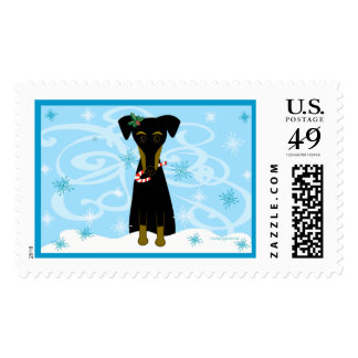 A Jazzy Christmas Stamp