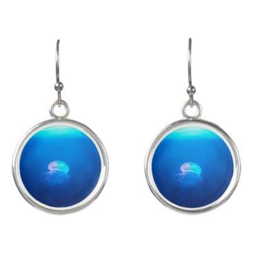 PhotoShots A Jellyfish Earrings