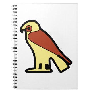 A jeroglífica egipcia note book