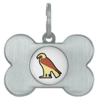 A jeroglífica egipcia placas mascota
