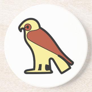 A jeroglífica egipcia posavasos personalizados