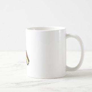 A jeroglífica egipcia taza básica blanca