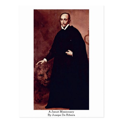 A Jesuit Missionary By Jusepe De Ribera Postcards