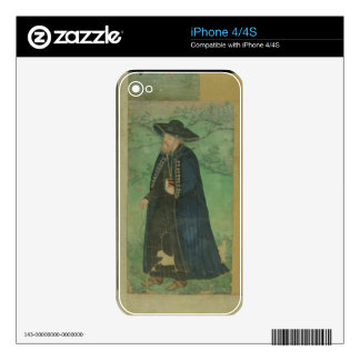 A Jesuit priest, inscribed in Persian: 'Jahangir S Decal For The iPhone 4S