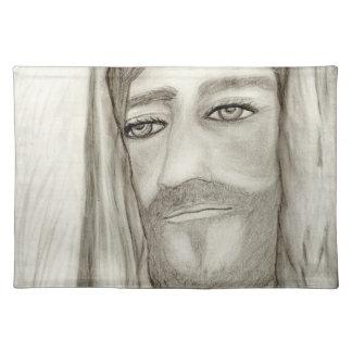A Jesus Cloth Placemat