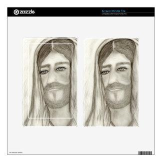 A Jesus Kindle Fire Skins