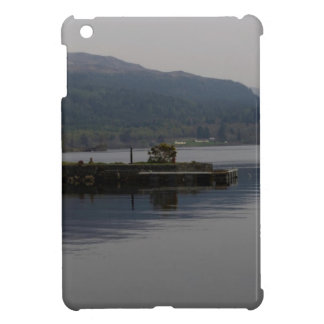 A jetty pushing out into the waters of Loch Ness iPad Mini Cases