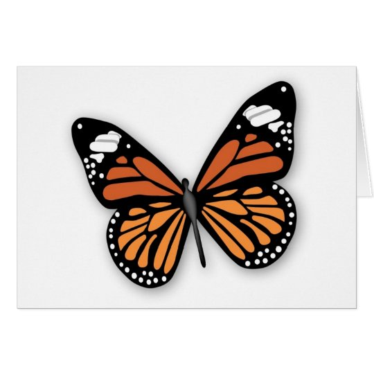 A Jeweled Monarch Butterfly Card