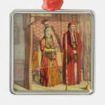 A Jewish Marriage, engraved by Charles Parsons, 18 Metal Ornament