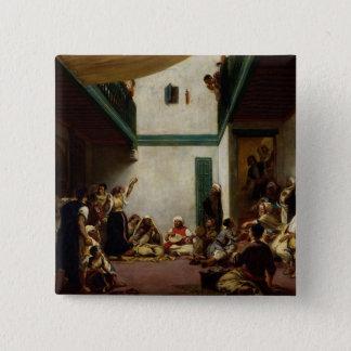 A Jewish wedding in Morocco, 1841 Pinback Button