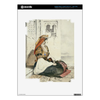 A Jewish Woman of Gibraltar, from 'Sketches of Spa iPad 3 Skins