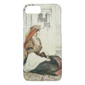 A Jewish Woman of Gibraltar, from 'Sketches of Spa iPhone 8/7 Case