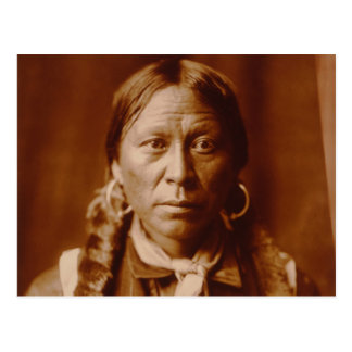 A Jicarilla Man, 1904 Postcard