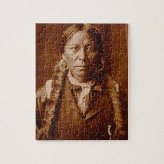 A Jicarilla Man 1904 Puzzle