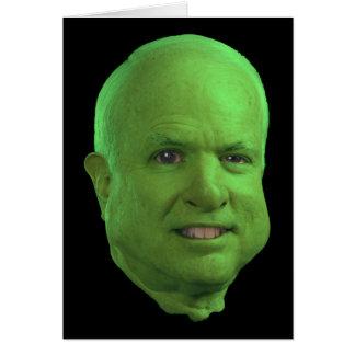 A John McCain Halloween! Greeting Cards