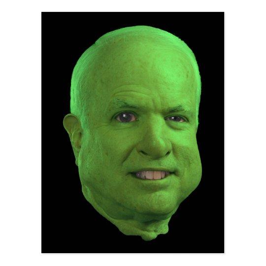 A John McCain Halloween! Postcard