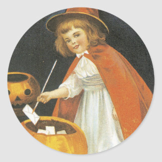 A Jolley Halloween Classic Round Sticker