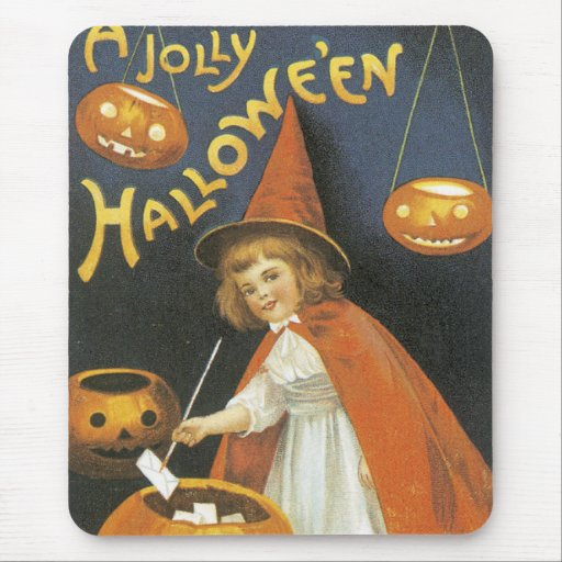 A Jolley Halloween Mouse Pad