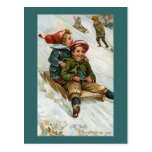 """A Jolly Christmas to You"" Postcard"