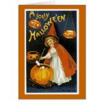 A Jolly Halloween Greeting Card