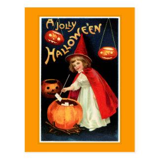 A Jolly Halloween Post Cards