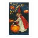 A Jolly Halloween Postcard