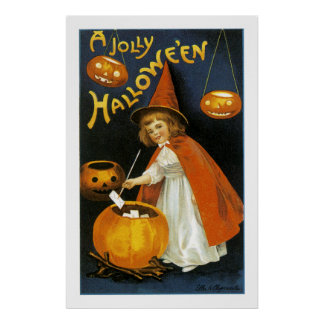 A Jolly Halloween Posters