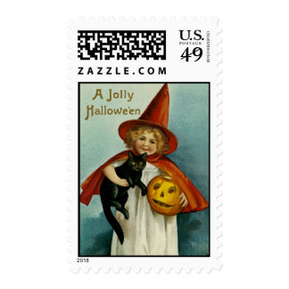 A Jolly Hallowe'en Stamps