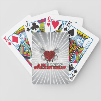 A Jordanian Stole my Heart Bicycle Playing Cards