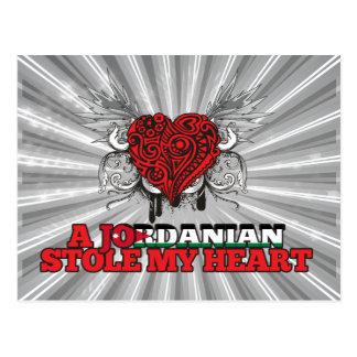 A Jordanian Stole my Heart Postcard