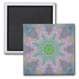 A Journal Mandala 2 Inch Square Magnet