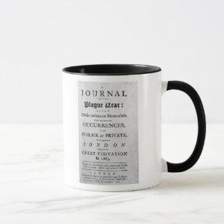 A Journal of the Plague Year, 1665 Mug