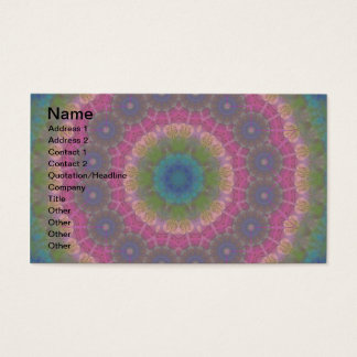 A journal Page Business Card