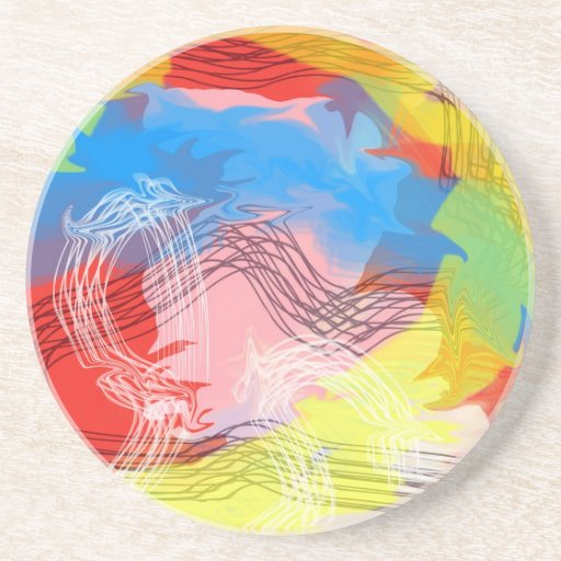 A Journey in the Storm Beverage Coasters