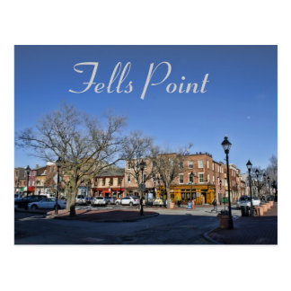 A Journey Into Fells Point Postcard