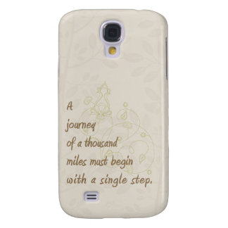A Journey Zen Proverb Galaxy S4 Cases