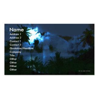 A Journeys Wonder Business Card Template