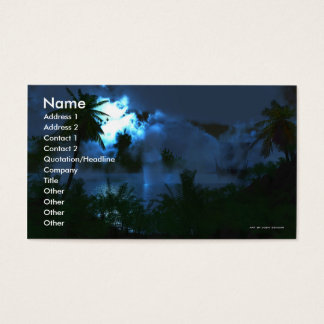 A Journeys Wonder Business Card Template