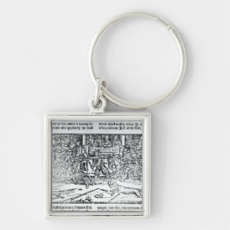 A Jousting Tournament Keychain