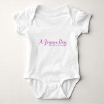A Joyeux Day Baby Bodysuit