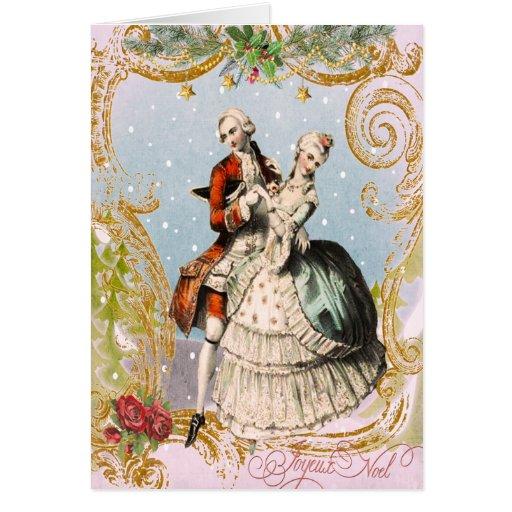 A JOYEUX NOEL Christmas Card