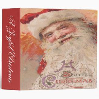 A Joyful Christmas 3 Ring Binder