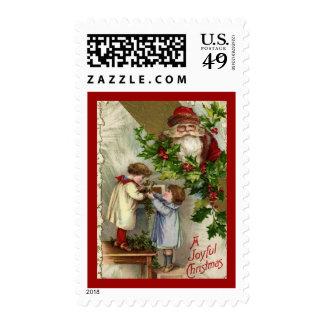 A Joyful Christmas Postage Stamps