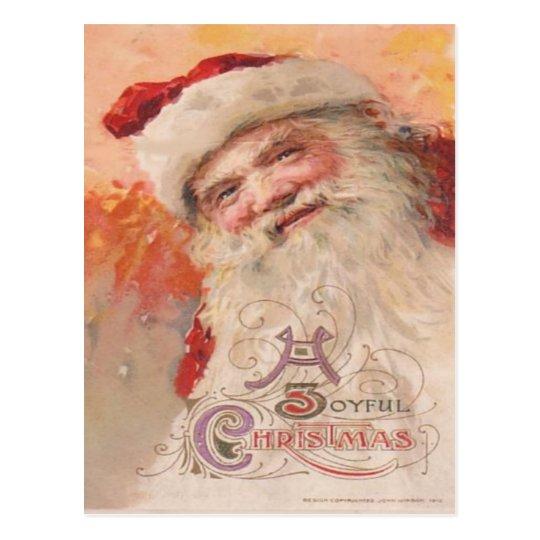 A Joyful Christmas Postcard