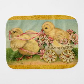 A Joyful Easter Baby Burp Cloth