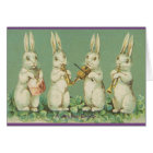A joyful Easter Rabbits Easter Greeting Card