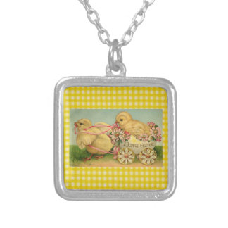 A Joyful Easter Silver Plated Necklace