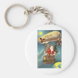 A joyful Yule Tide Basic Round Button Keychain