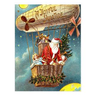 A joyful Yule Tide Postcard