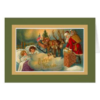 A Joyful Yuletide Card